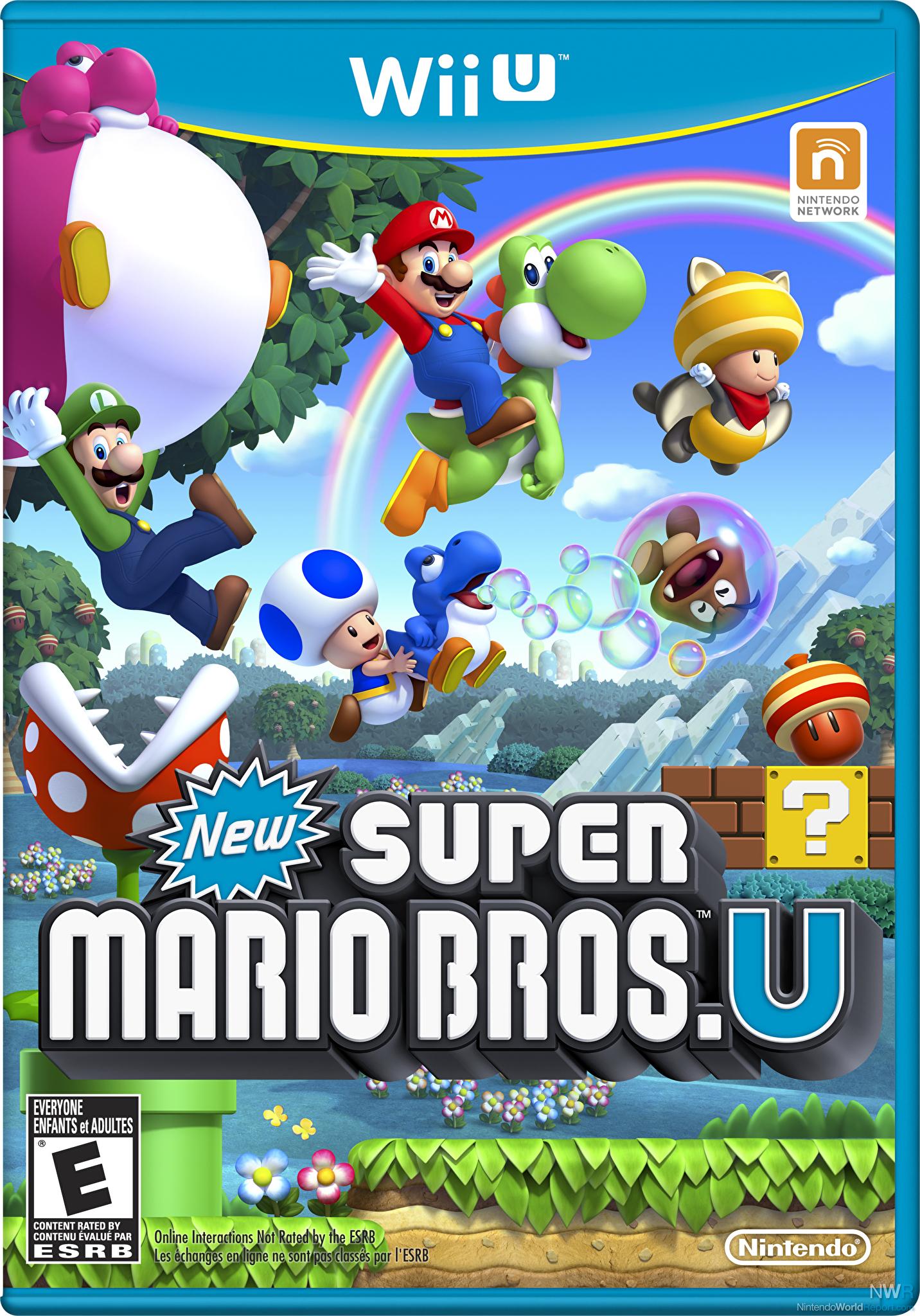 New super mario bros u review review nintendo world report new super mario bros u box art publicscrutiny Choice Image