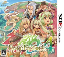 Rune Factory 4 Box Art