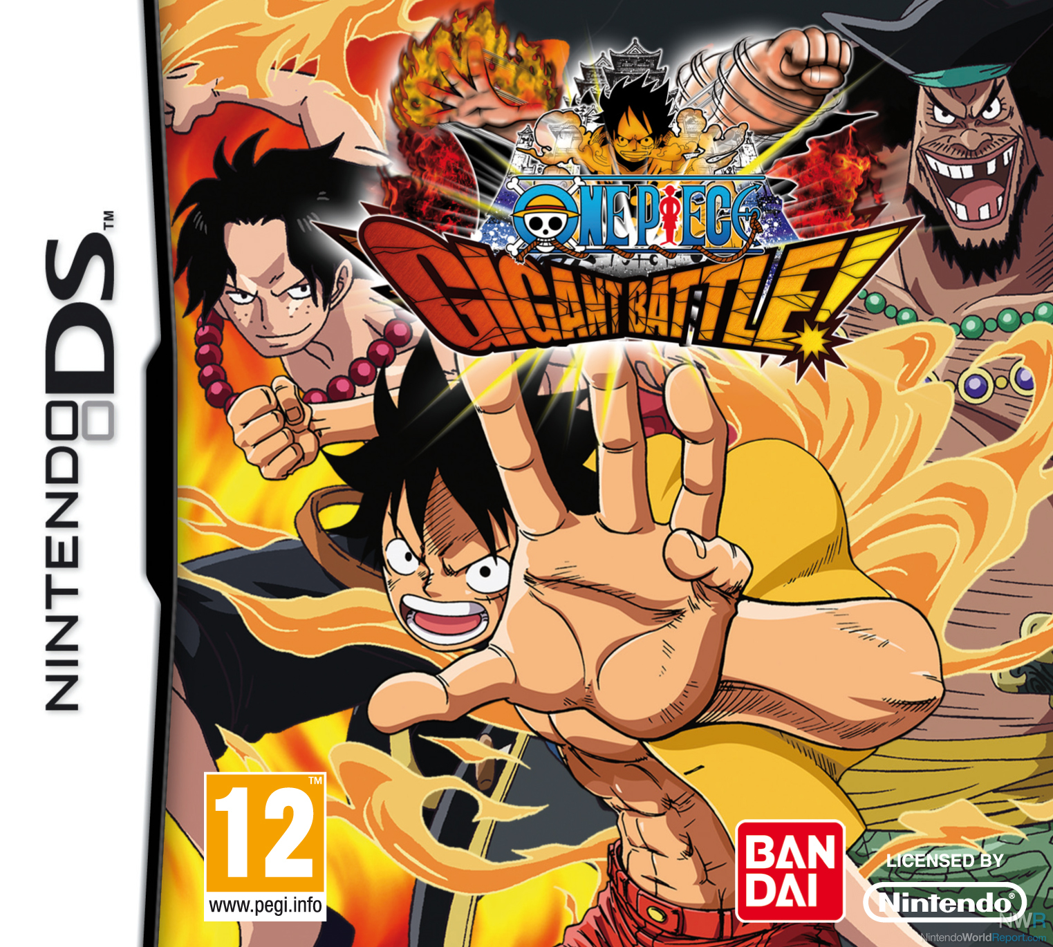 one piece gigant battle not coming to australia news nintendo world report. Black Bedroom Furniture Sets. Home Design Ideas