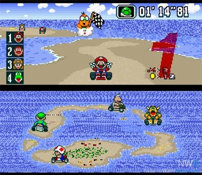 Super Mario Kart Review (SNES, Wii VC) 2