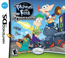Phineas and Ferb: Across the 2nd Dimension Box Art