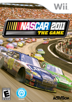 NASCAR 2011: The Game Box Art
