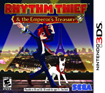 Rhythm Thief and the Emperor's Treasure Box Art