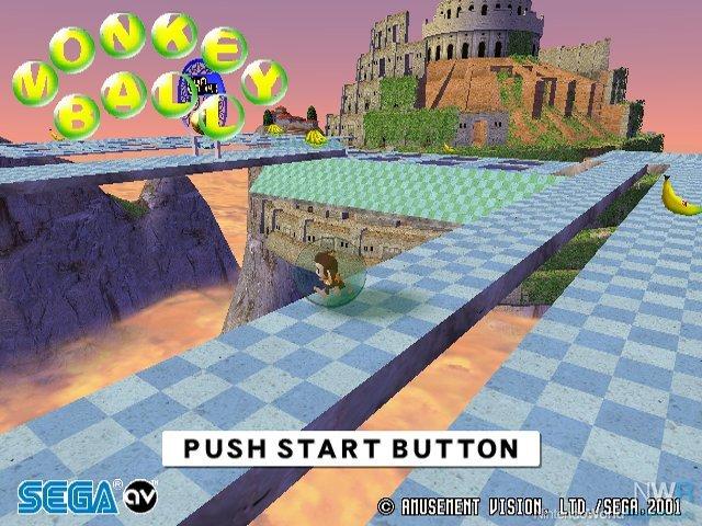 Gamecube Monkey Ball Super Monkey Ball