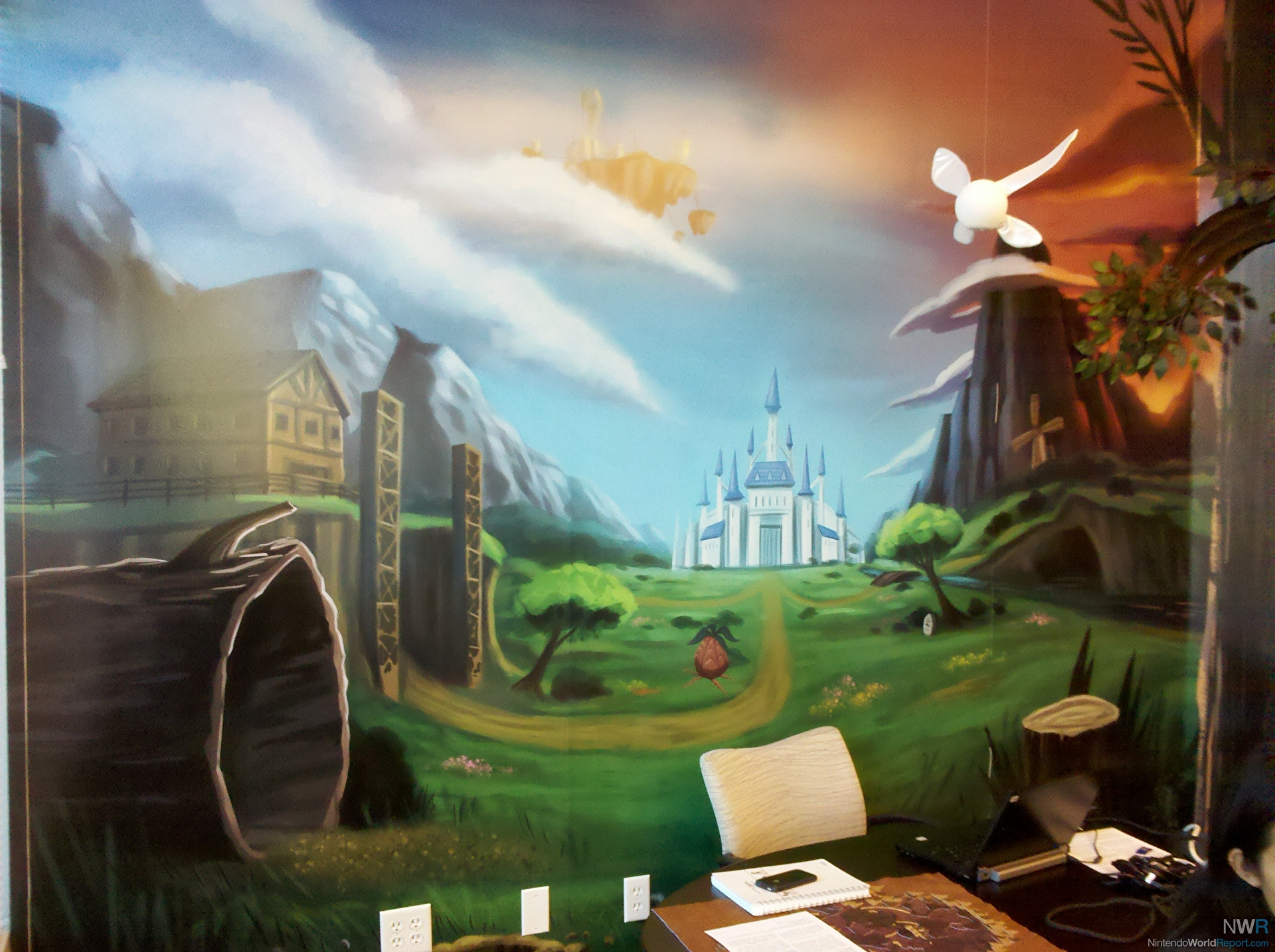 The legend of zelda room blog nintendo world report for Chambre zelda