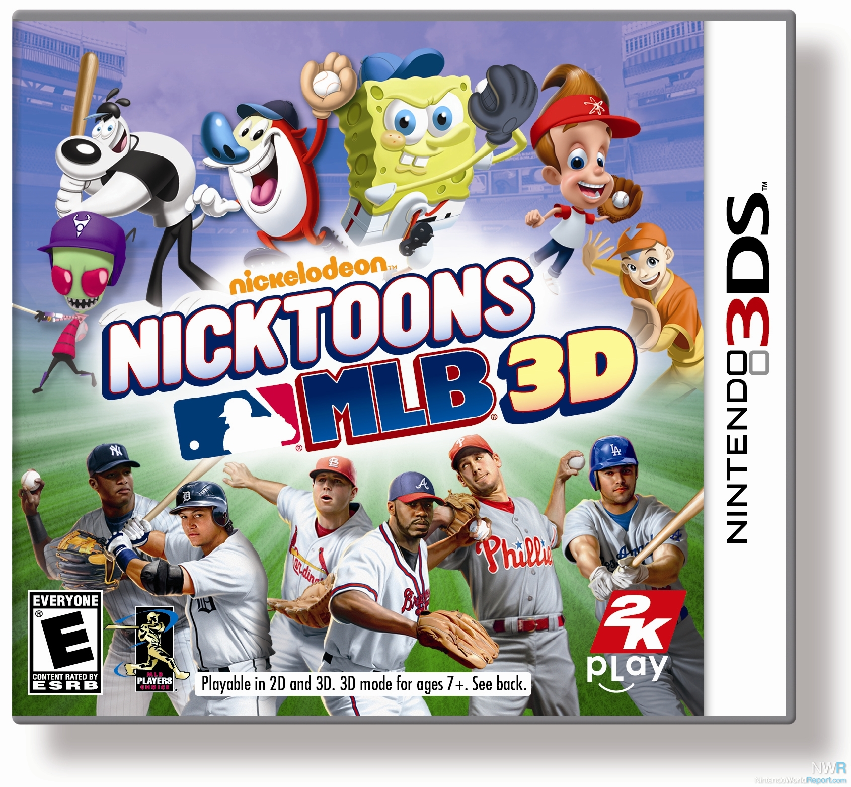 Nicktoons Mlb 3d Review Review Nintendo World Report