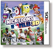 Nicktoons MLB 3D Box Art