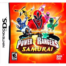 Power Rangers Samurai Box Art