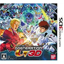 SD Gundam G Generation 3D Box Art