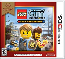LEGO City Undercover: The Chase Begins Box Art