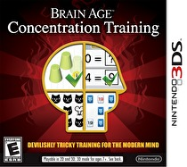 Dr. Kawashima's Devilish Brain Training: Can You Stay Focused? Box Art