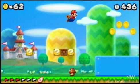 Mario Land Background as Super Mario 3d Land
