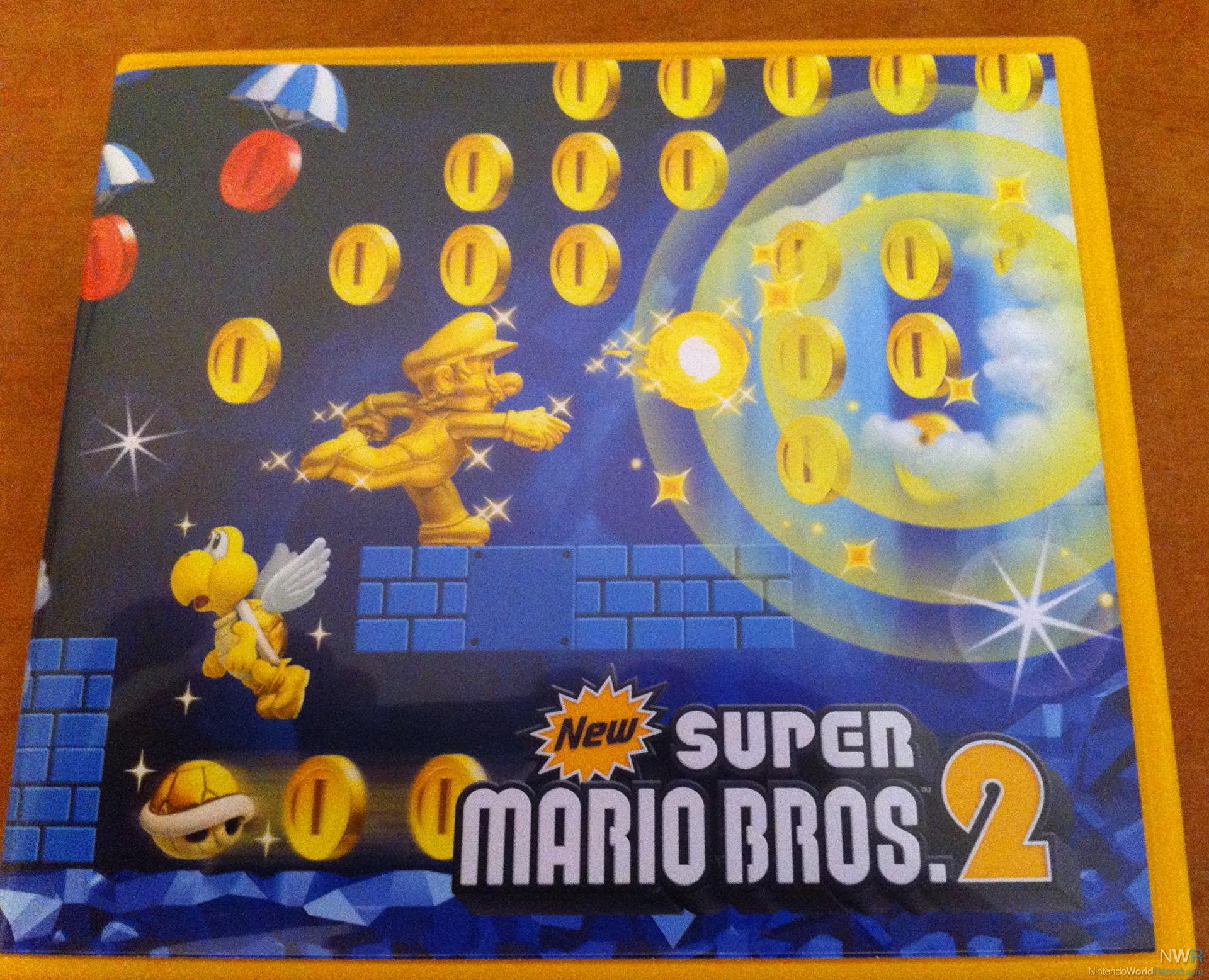 New Super Mario Bros  2 Reversible Cover - Blog - Nintendo World Report