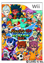 Inazuma Eleven GO Strikers 2013 Box Art