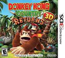 Donkey Kong Returns 3D Box Art