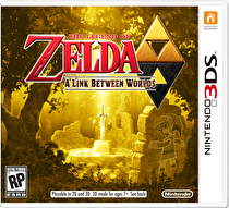 The Legend of Zelda: A Link Between Worlds Box Art