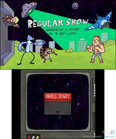 regular show ds