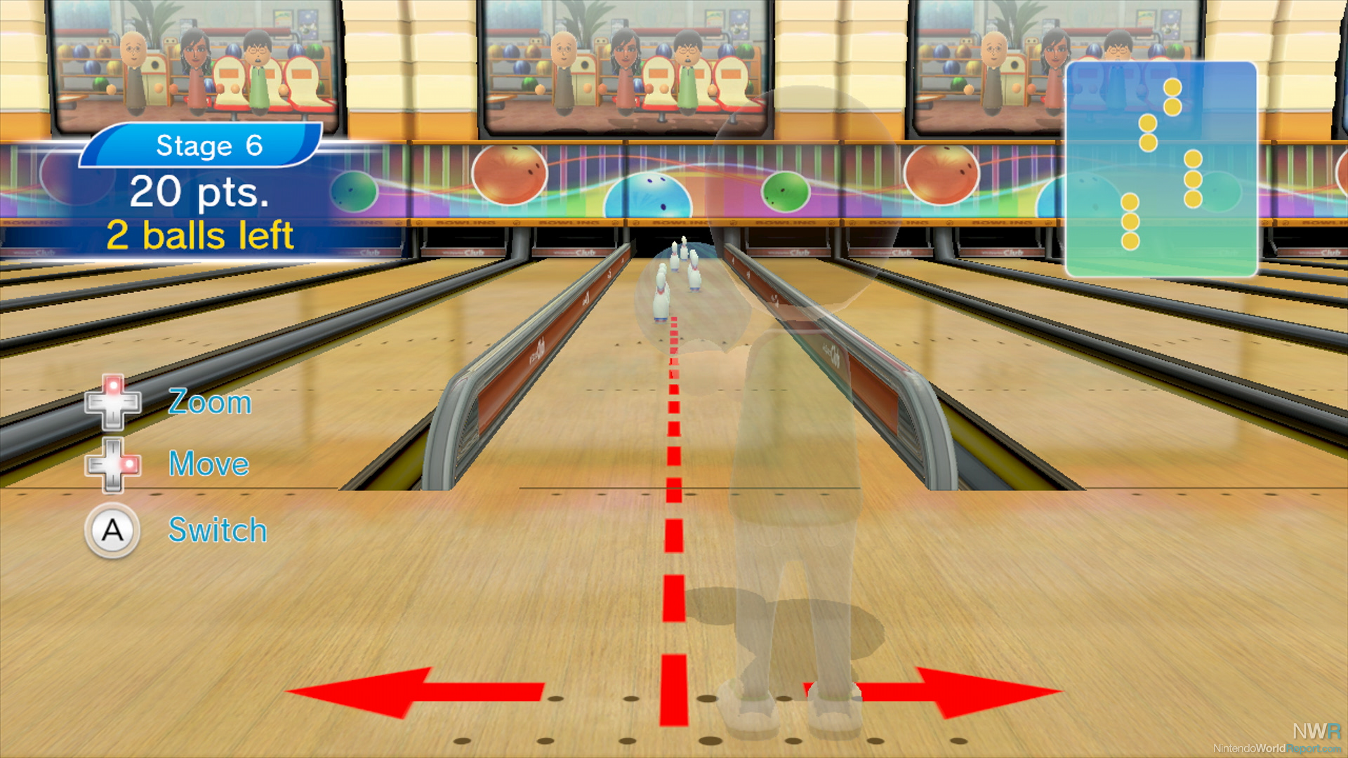 Wii Sports Contents Wii Sports Club Bowling Isn't