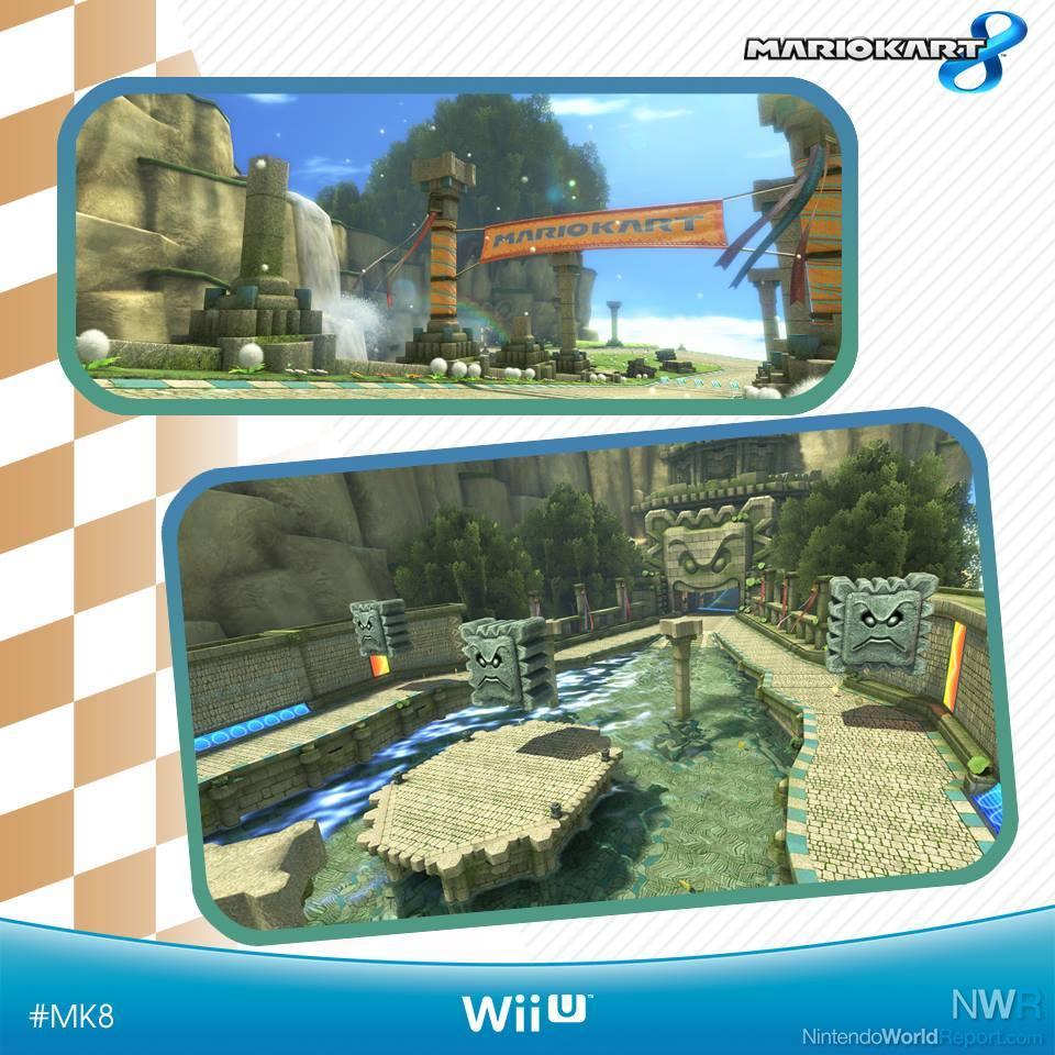 Mario Kart 8 Wii U Retro Tracks Related Keywords And Tags Luigi Circuit New Shown On Uk Facebook News