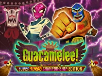 Guacamelee: Super Turbo Championship Edition Box Art