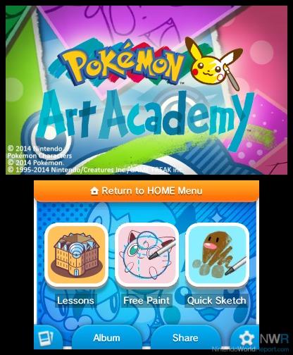 Pokemon Art Academy Artwork Pokémon Art Academy Does