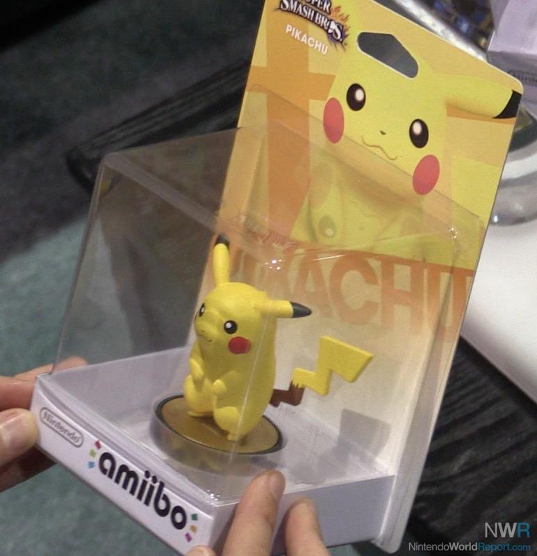Caja amiibo pikachu