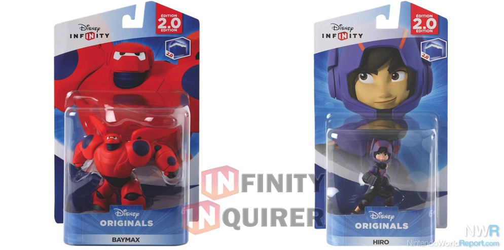 Big Hero 6 S Hiro And Baymax Get Disney Infinity Figures