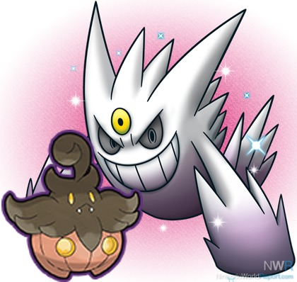Two Pokemon Distributions Get in the Halloween Spirit