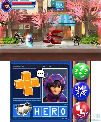 Big hero 6 battle in the bay game nintendo world report