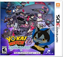 Yo-Kai Watch 2: Psychic Specters Box Art