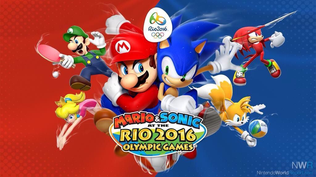 Mario And Sonic Qualify For 2016 Rio Olympics On Wii U And 3DS ...