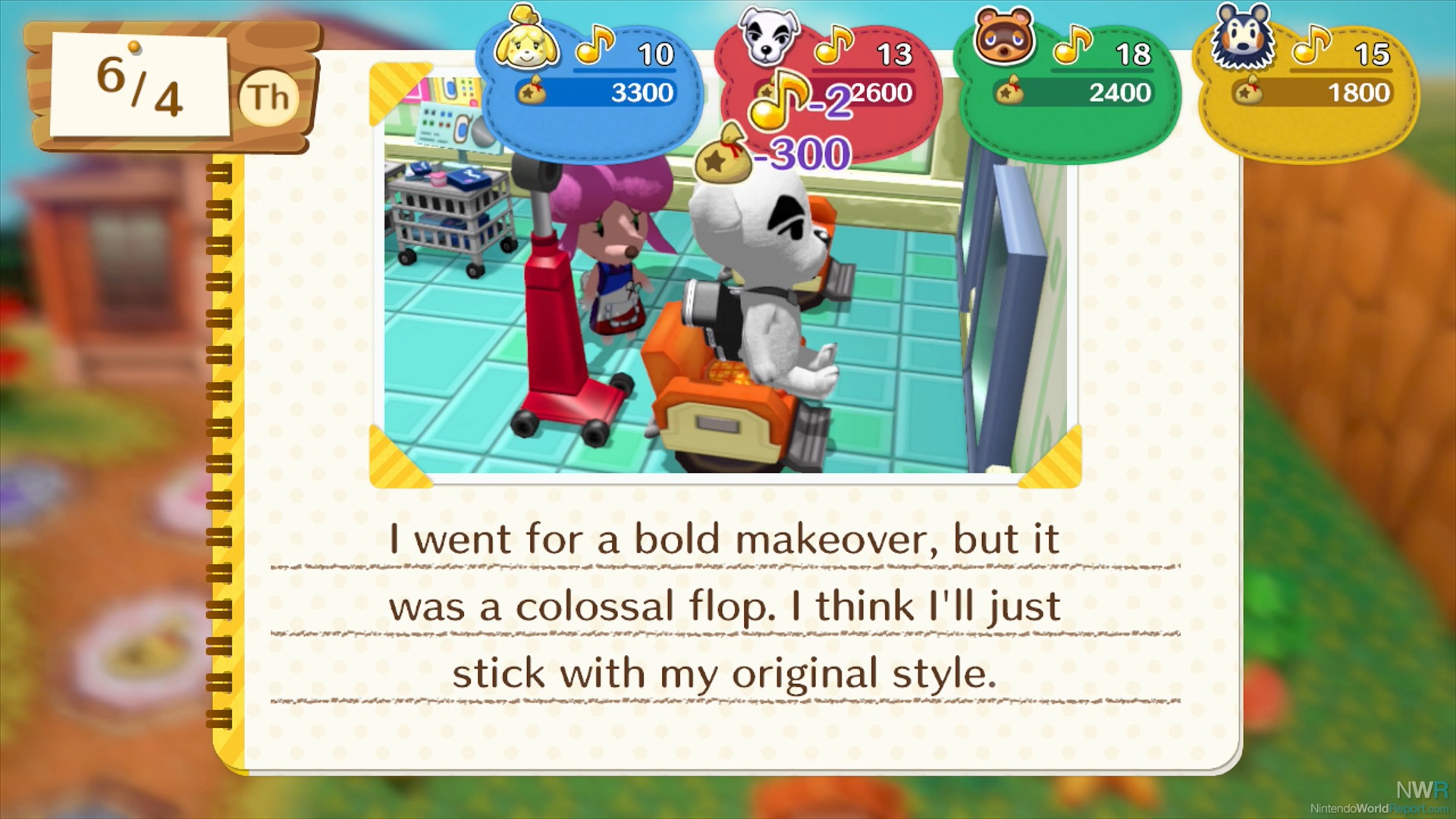 Animal crossing amiibo festival preview preview for Wallpaper happy home designer