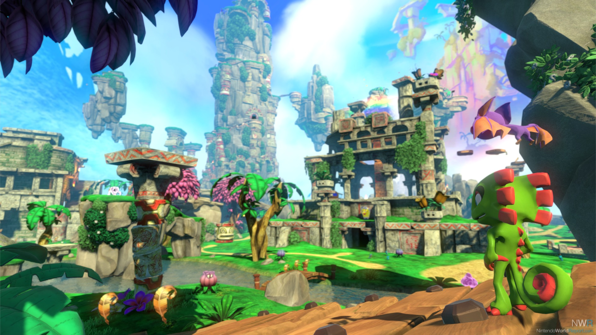 Yooka-Laylee (Switch) Review