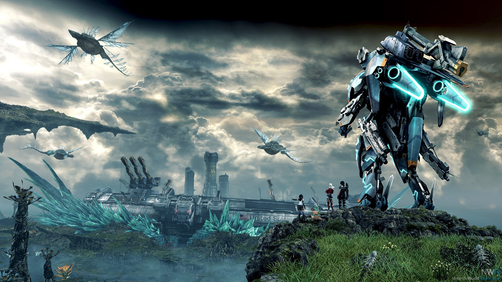 xenoblade chronicles x is bigger than skyrim fallout 4 or witcher