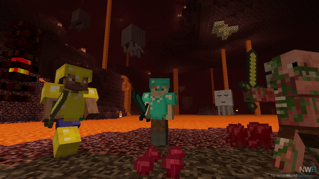 Minecraft: Wii U Edition Review - Review - Nintendo World Report