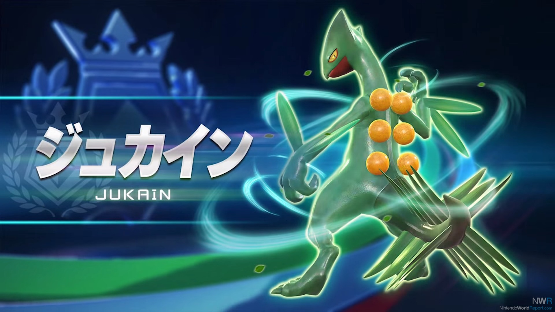 pokken tournament adds sceptile to the roster news nintendo