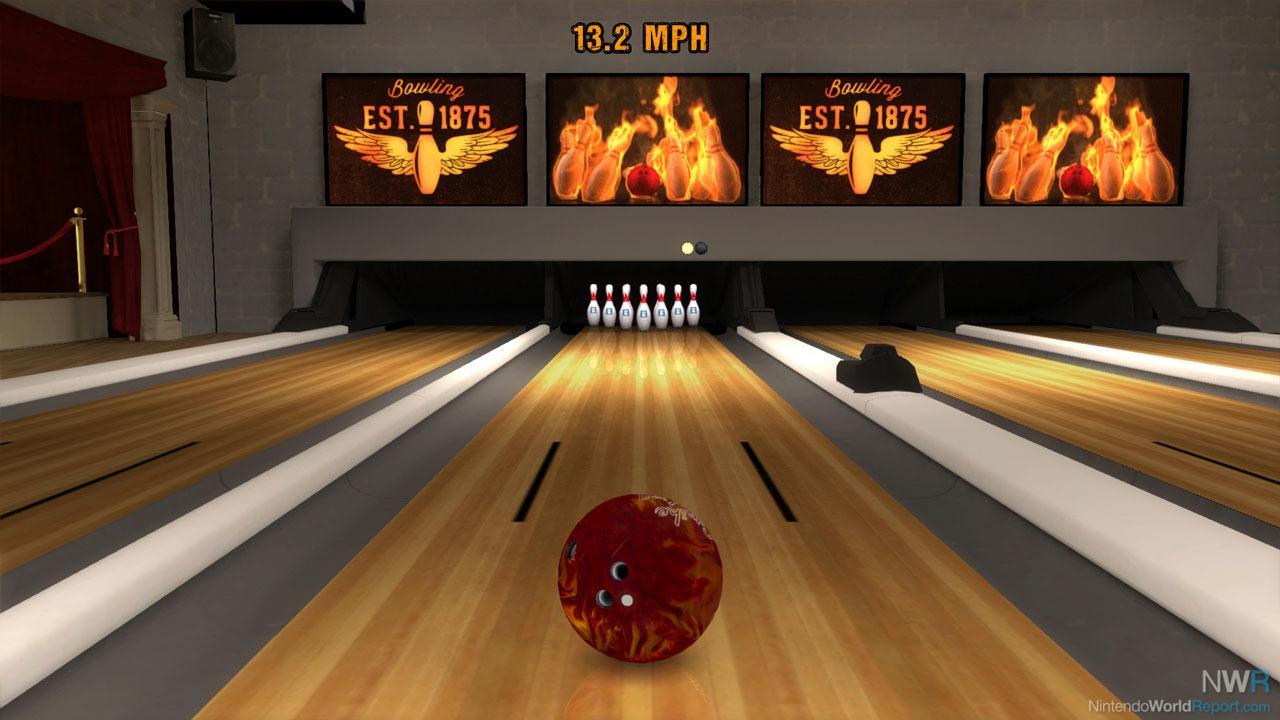 brunswick pro bowling - game