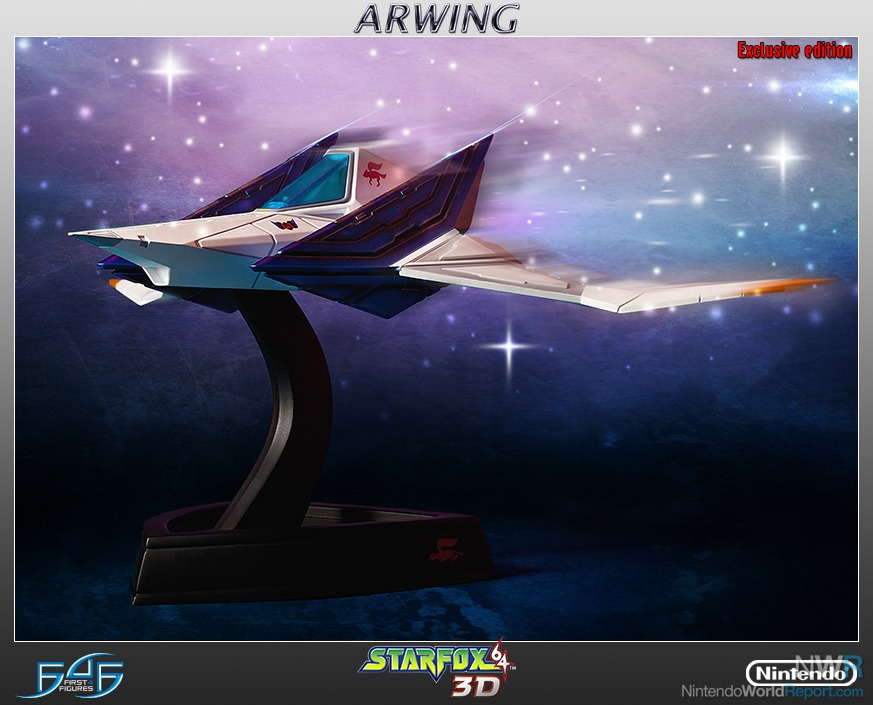 Arwing First4Figures 1
