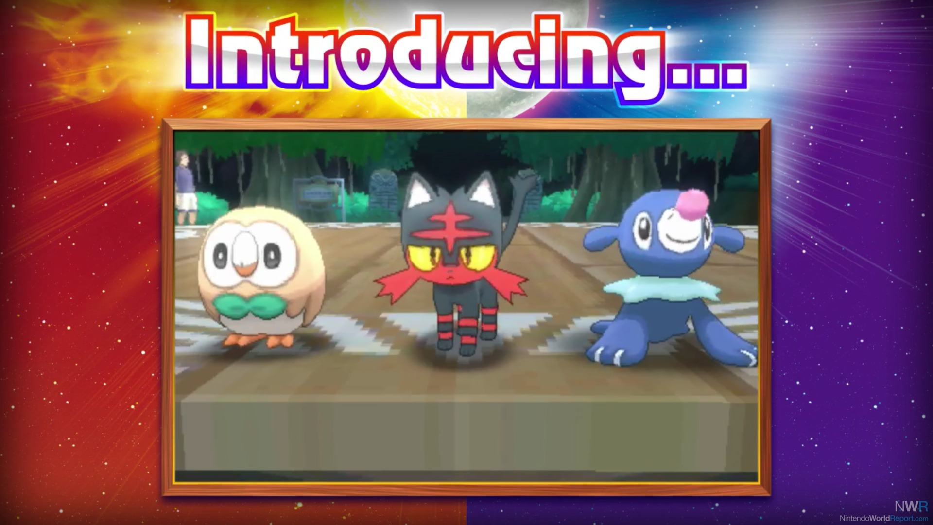 pokemon sun and pokemon moon starters and more revealed news