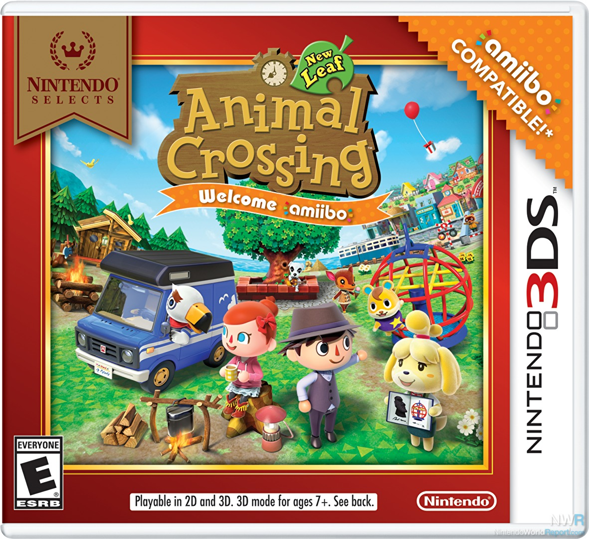 Animal crossing new leaf welcome amiibo game for Animal crossing new leaf arredamento