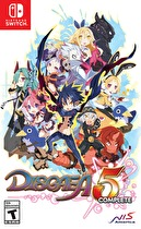 Disgaea 5: Complete Box Art