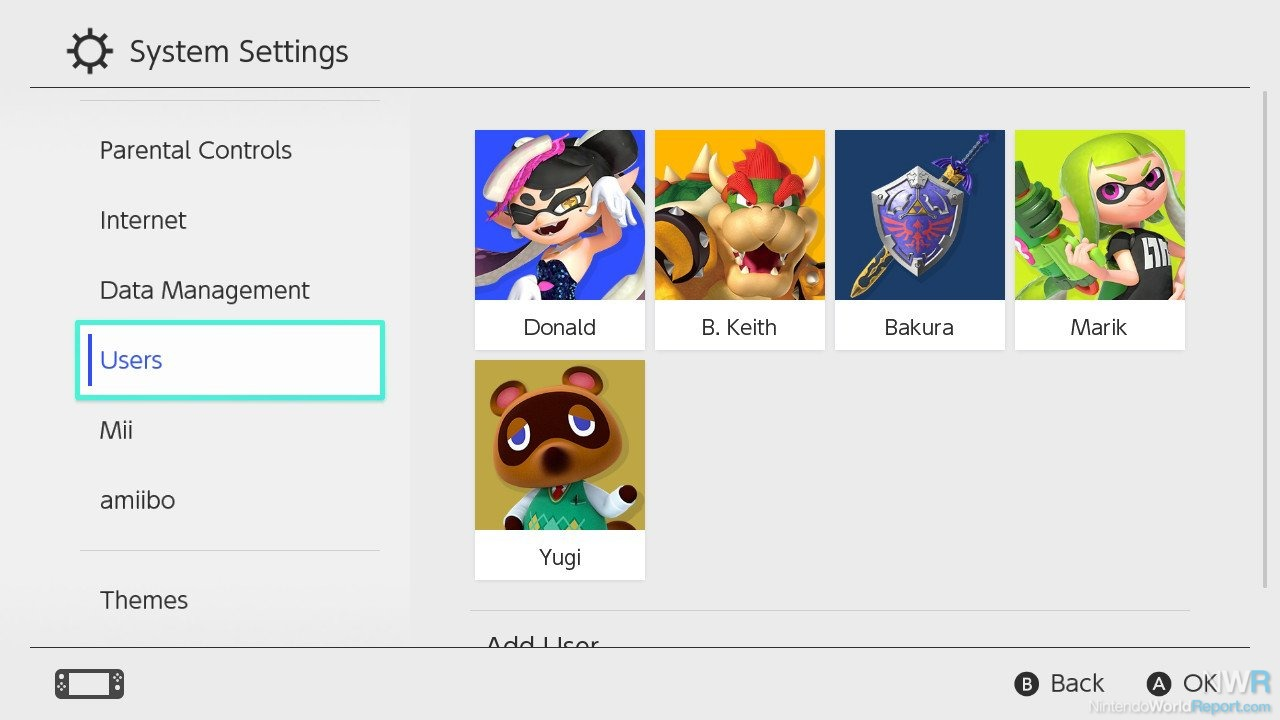 how to create a account on nintendo switch