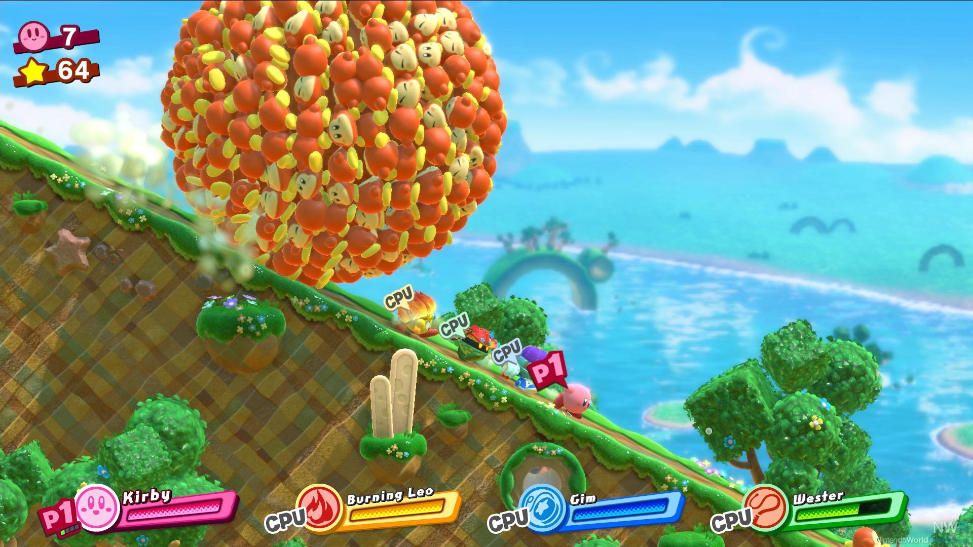 Kirby Star Allies Game Nintendo World Report