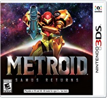 Metroid: Samus Returns Box Art