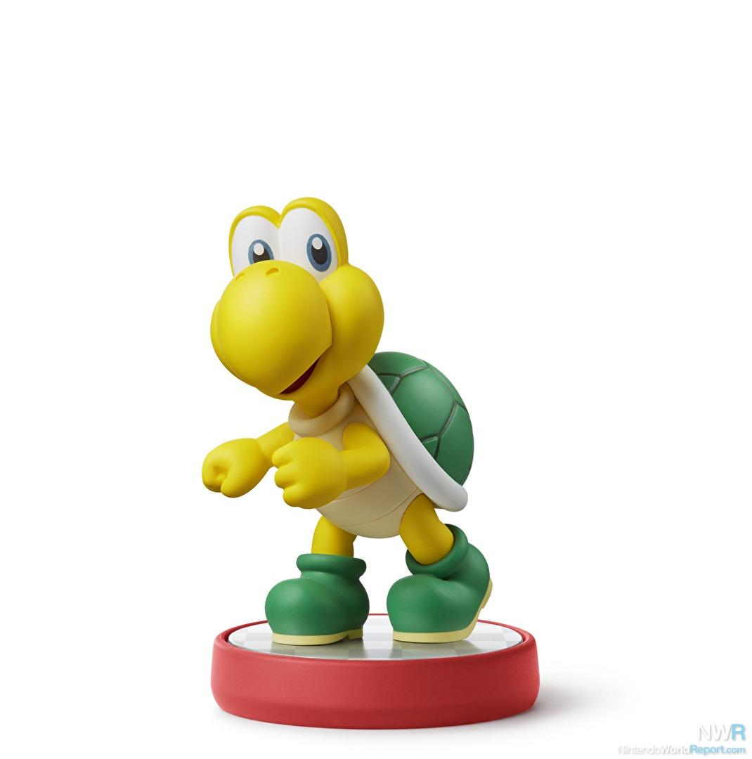 Koopa Troopa and Goomba Amiibo Join Wedding Attire Mario, Peach, and ...