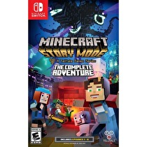 Minecraft Story Mode: The Complete Adventure Box Art