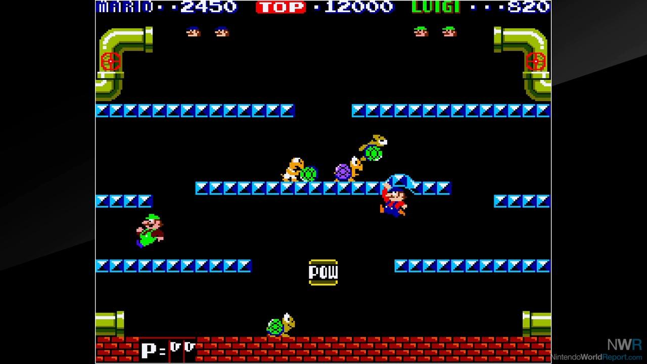 Mario Bros Arcade Nes