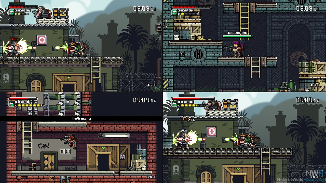 Mercenary kings reloaded edition switch eshop review for Floor 6 reloaded