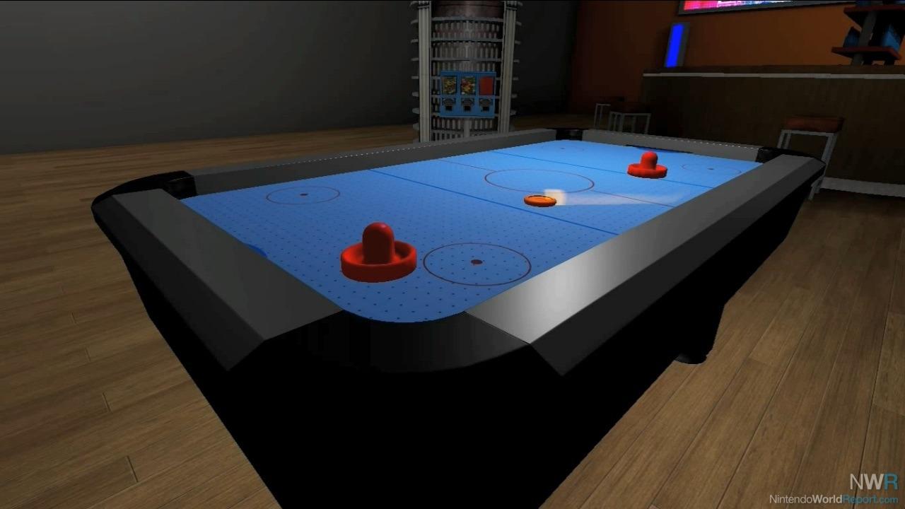 Air Hockey Game Nintendo World Report
