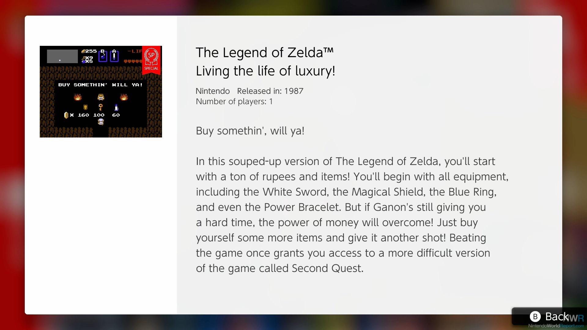 legend of zelda save